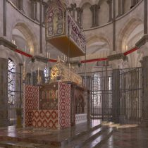 Digital reconstruction of most important medieval shrine