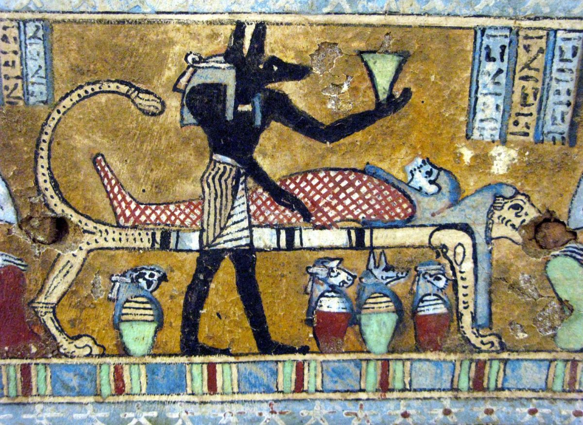 Scents of Mummification and Ancient Egyptian Afterlife