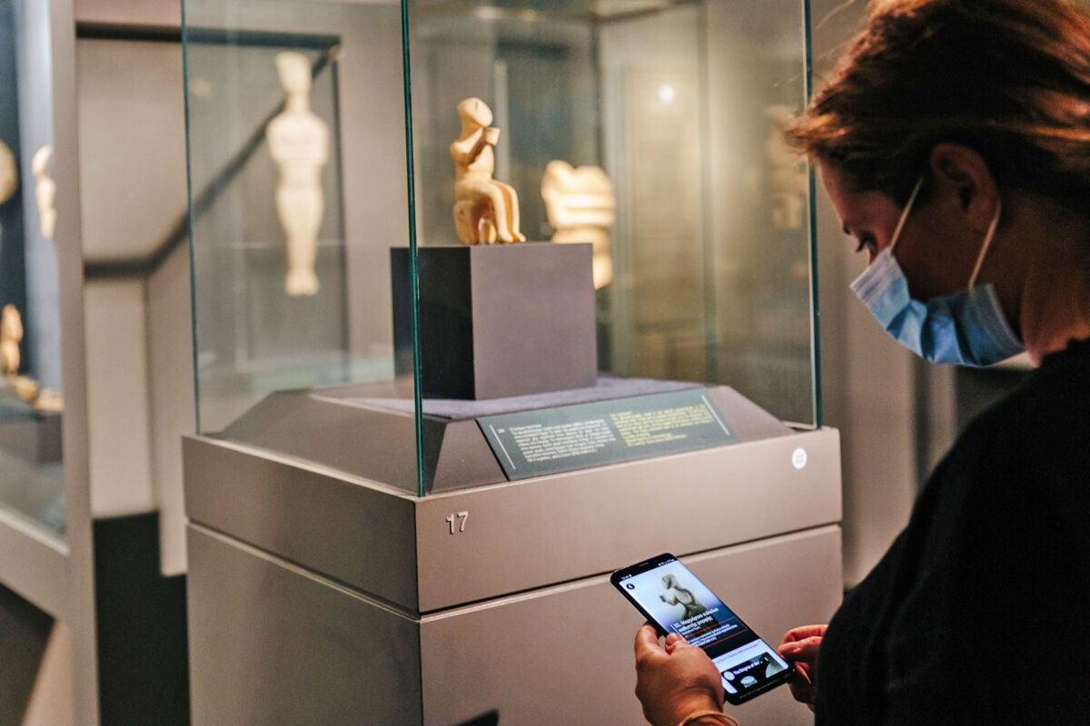 Guided tour of the Museum of Cycladic Art: Photo© Paris Tavitian.