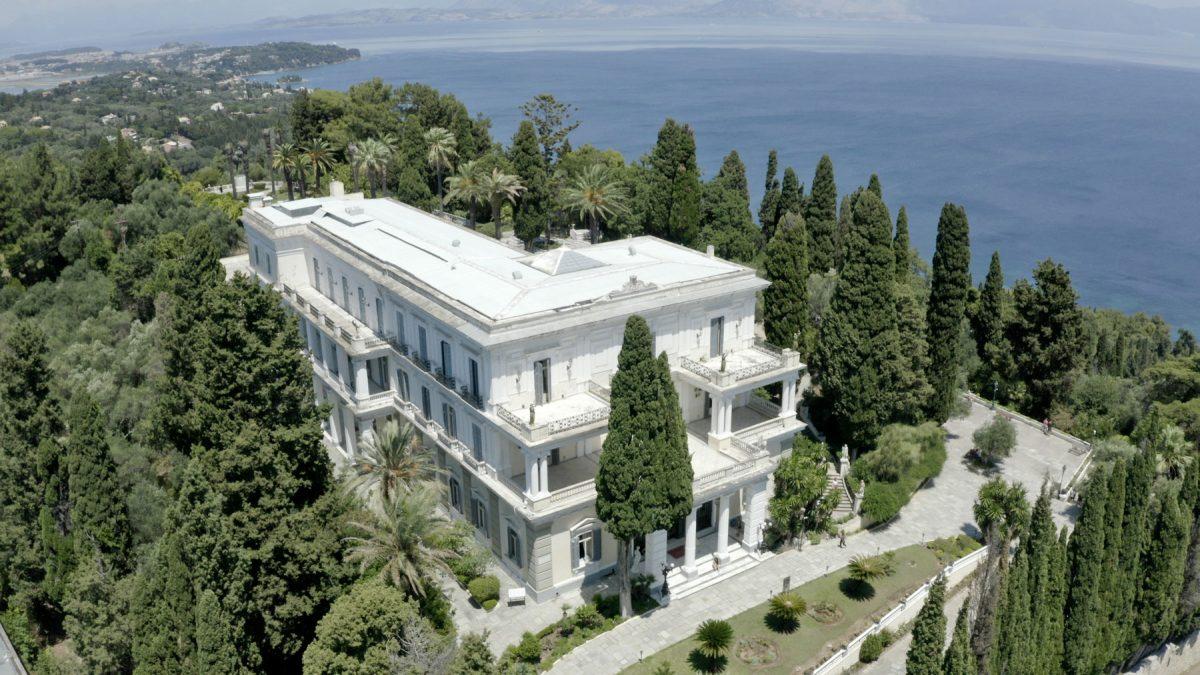 The Achilleion, Corfu (photo: MOCAS)