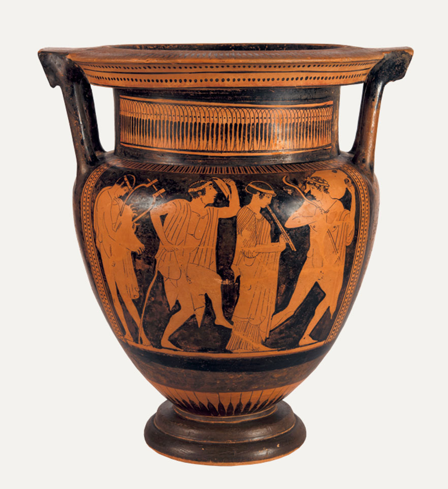 Red-figure column krater, 470 BC. Museum of Cycladic Art.
