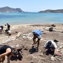The excavation findings on Despotikon and Tsimintiri