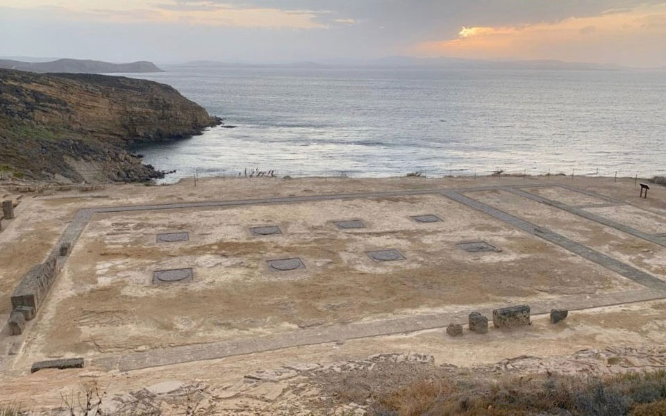 Opening of upgraded archaeological site of Kabeirion, Lemnos