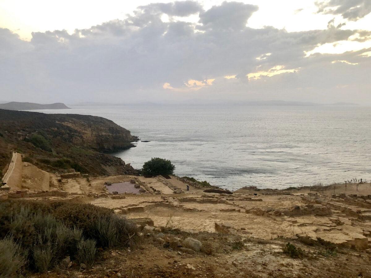 The Kabeirion, Lemnos; view of the archaeological site (photo: MOCAS).