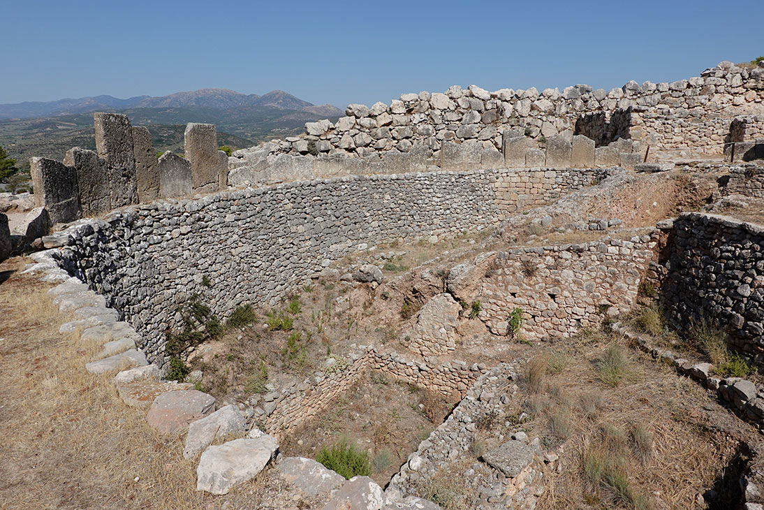 Mycenae after the fire