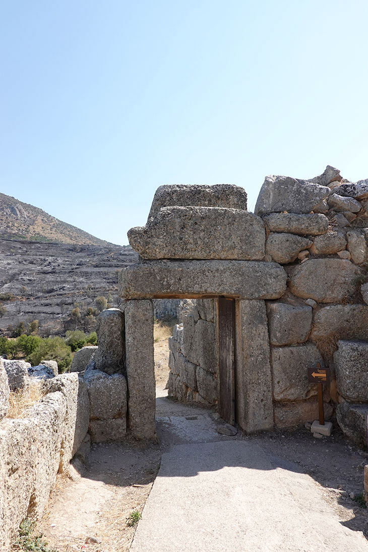 Mycenae, the North Gate. (photo: Ministry of Culture)