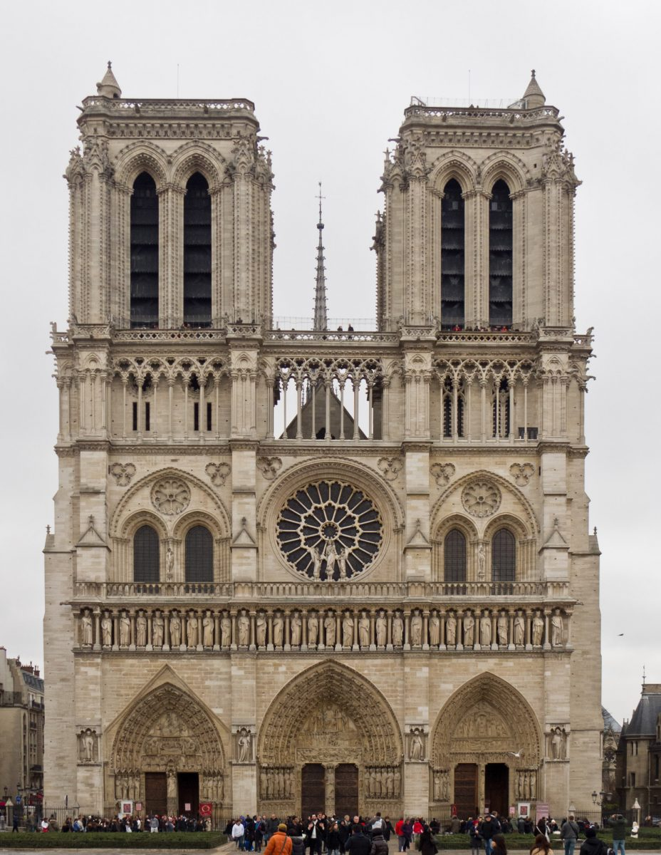 Notre Dame de Paris before the destructive fire (photo: Wikipedia).