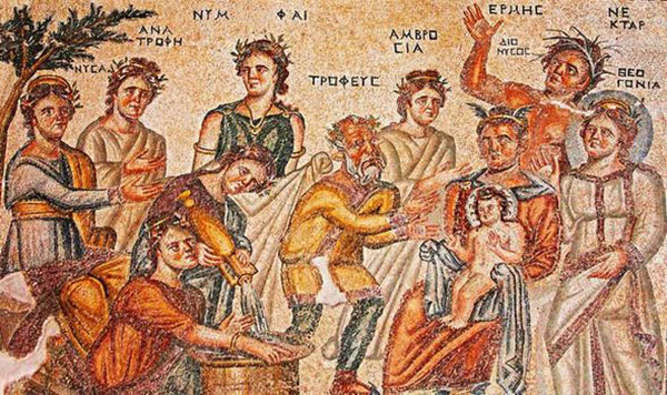 Ancient mosaic criticises Christianity