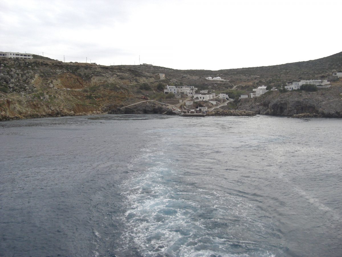 Potamos, the main port of Antikythera. (Photo: Wikipedia)