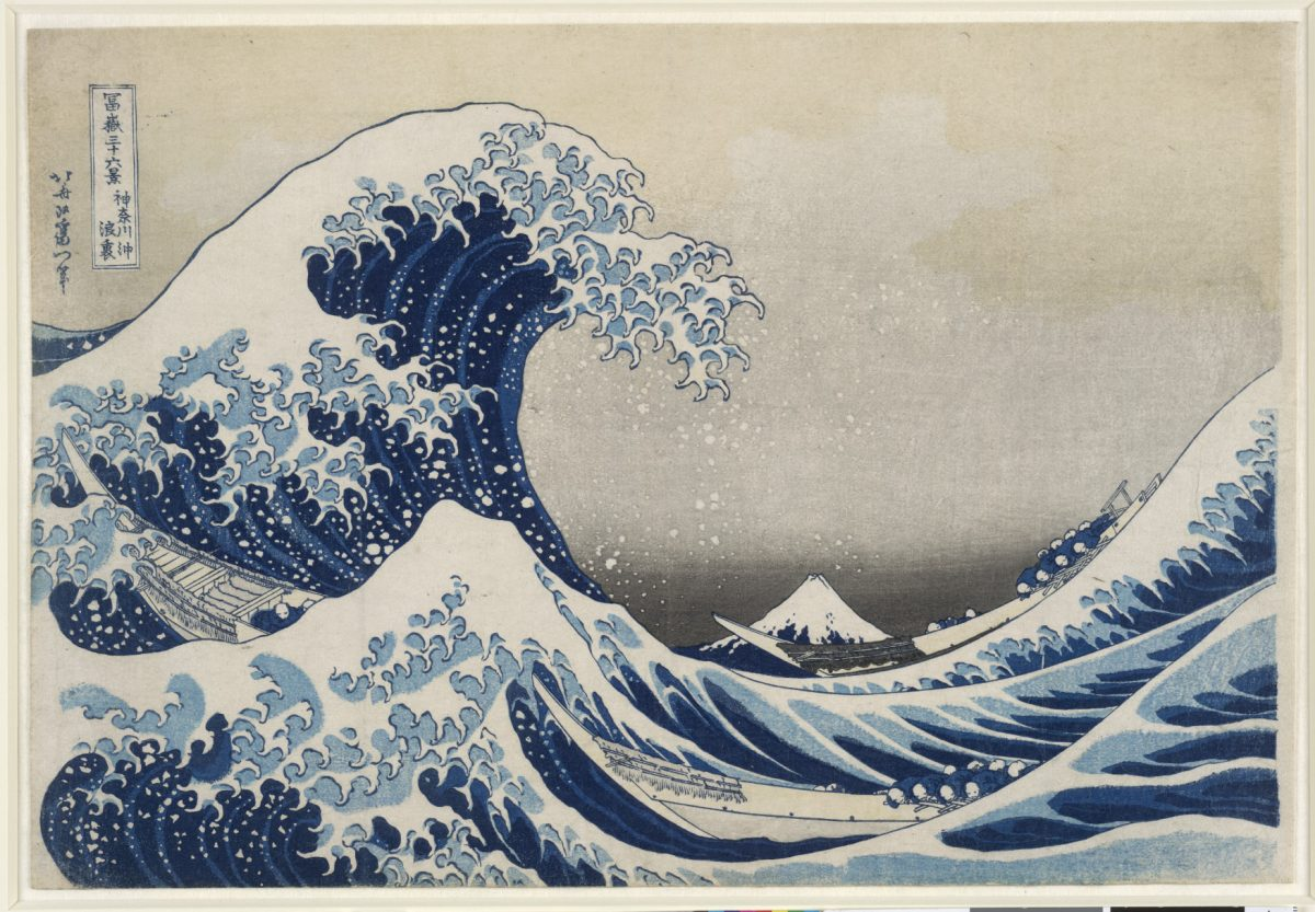 The Great Wave. Katsushika Hokusai, 1829. © The Trustees of the British Museum