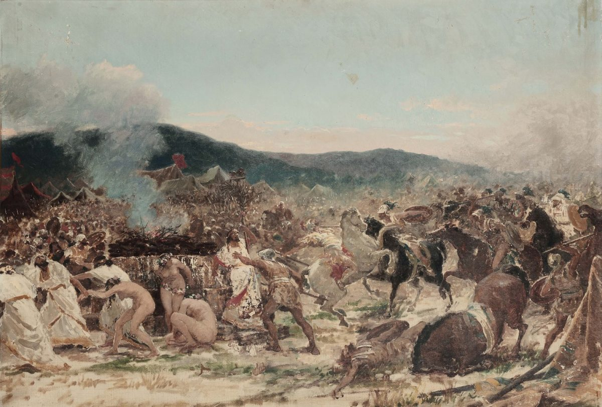 The Battle of Himera by Giuseppe Sciuti.