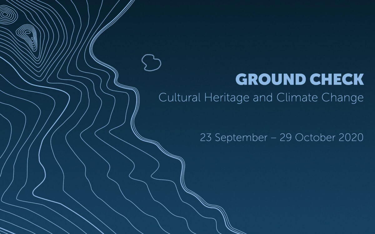 """Ground Check: """"Cultural Heritage and Climate Change"""
