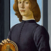 The Ultimate Renaissance Portrait: Young Man Holding a Roundel