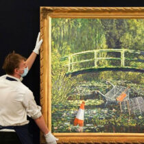Banksy's version of Claude Monet's masterpiece is on sale