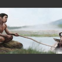 Did our early ancestors boil their food in hot springs?