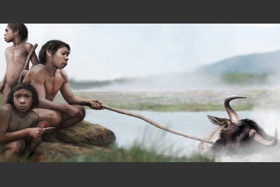 The proximity of hot springs to early settlements have led researchers to wonder if early humans used hot springs as a cooking resource long before fire. Credit: Tom Björklund