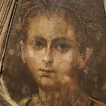 Ancient Egyptian mummified infant's reconstructed face