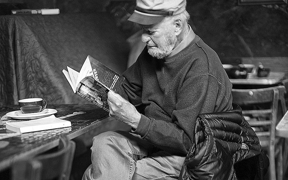 Lawrence Ferlinghetti in 2007 (photo: Wikipedia).