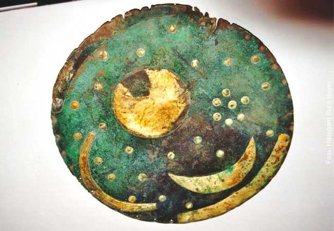 The Nebra sky disk is one of Germany's most significant archaeological finds and was included in the UNESCO Memory of the World Register in 2013.