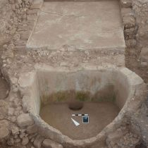 The first Iron Age wine press in Lebanon found in Tell el-Burak
