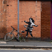 New work by Banksy in Nottingham