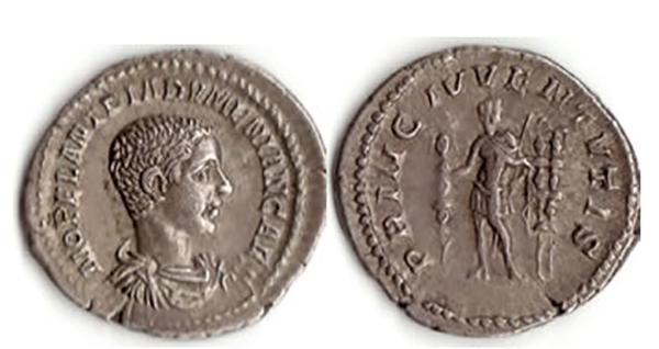 Rome, Diadumenian Caesar, 217-8, AR Denarius. Photos © Angela Grant 2020.