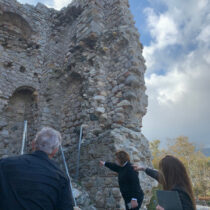 Inspection of the Fonias Tower in Samothrace