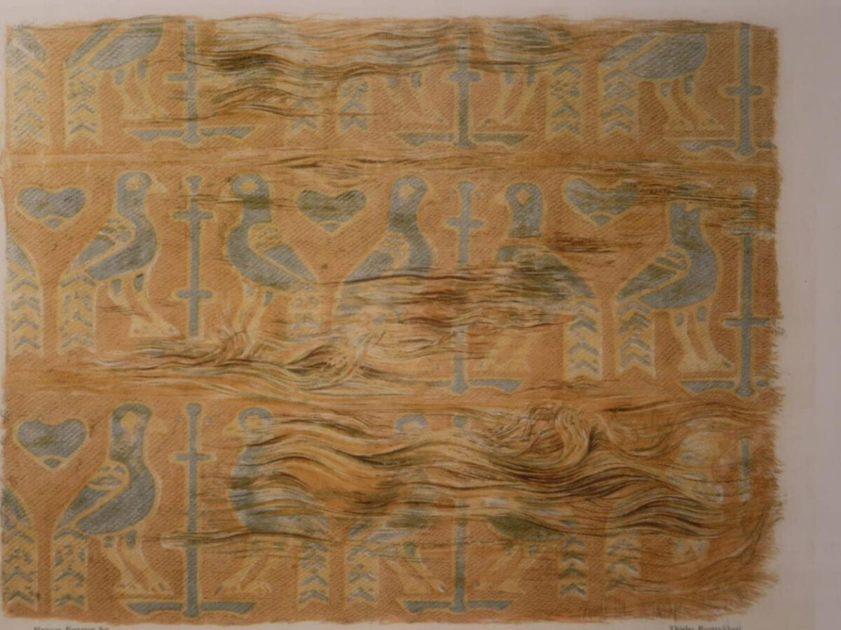 One of the textiles examined. Image Credit: Nationalmuseet / The National Museum of Denmark