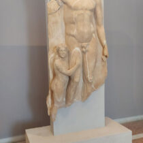 "The ""athlete"" from Xobourgo is in the Archaeological Museum of Tinos"