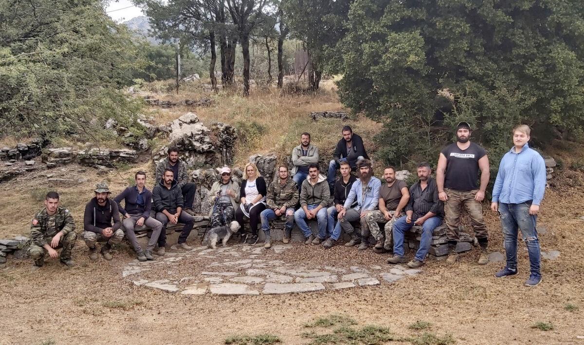 The excavation team (photo: MOCAS).
