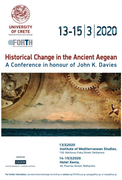 Historical Change in the Ancient Aegean.