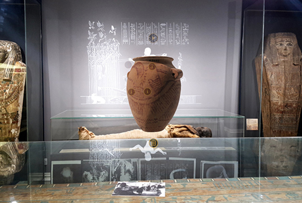 The Garstang Museum, which was founded in 1904, houses more than 20,000 artefacts from Egypt, Sudan and the Near East – including rare pieces from Nubia – but is currently closed to the public due to Covid-19 restrictions.