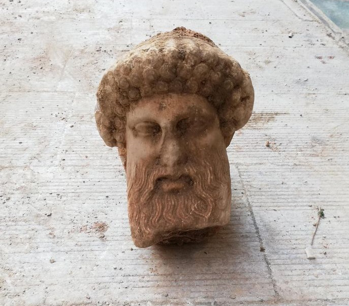 The head of Hermes. Credit: Ministry of Culture and Sports