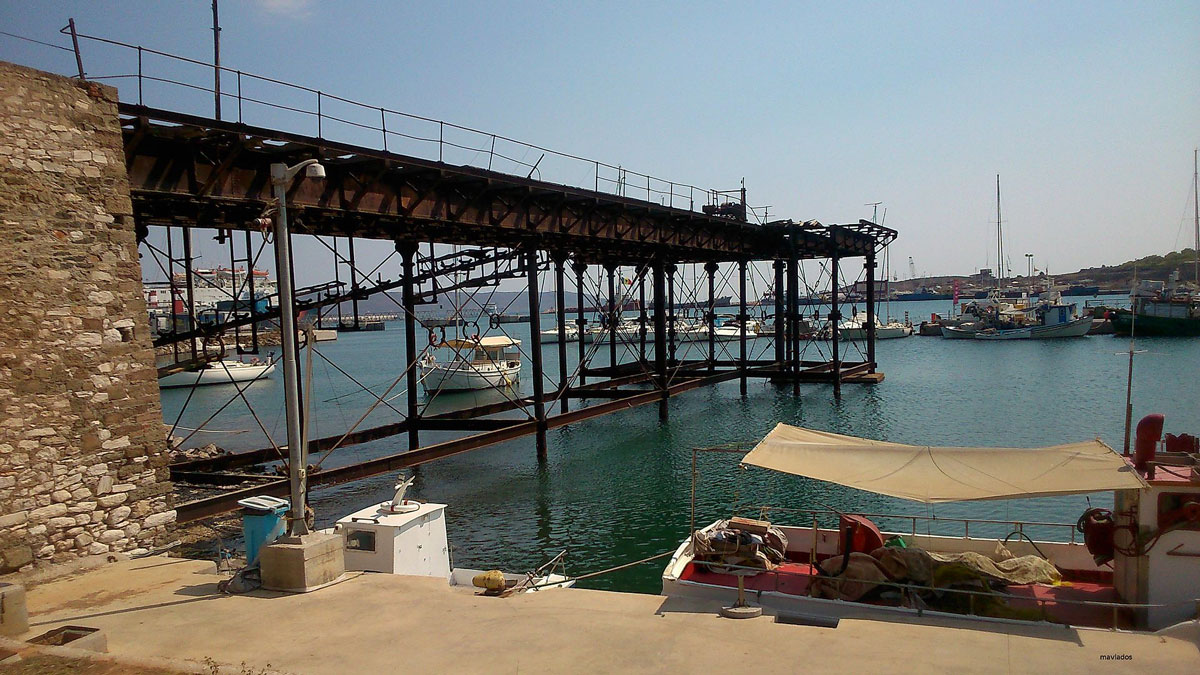 The French Wharf of the Lavrion Mines (photo: Wikipedia)