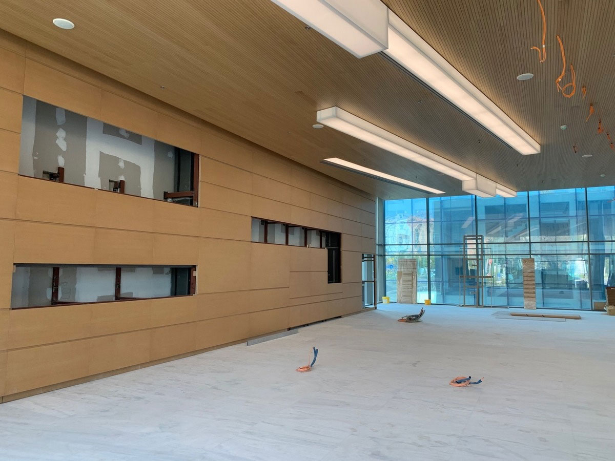 Works are advancing at the National Art Gallery (photo: MOCAS)