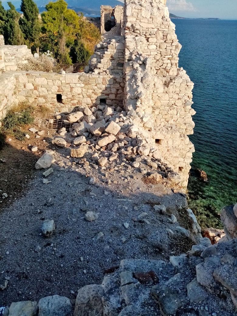 Castle of Pythagorion (photo: MOCAS)