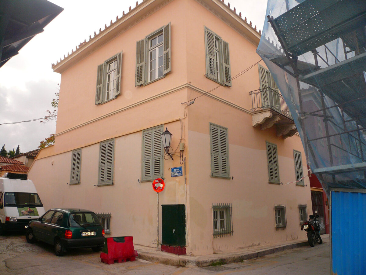 The house hosting the important legacy left by the Nobel prize winning poet Odysseas Elytis (photo: MOCAS)