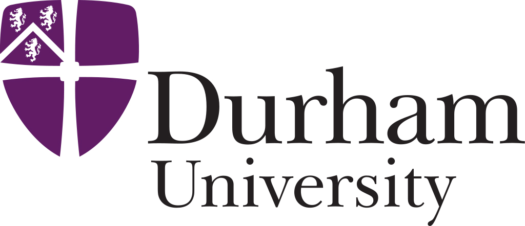 Durham University logo.