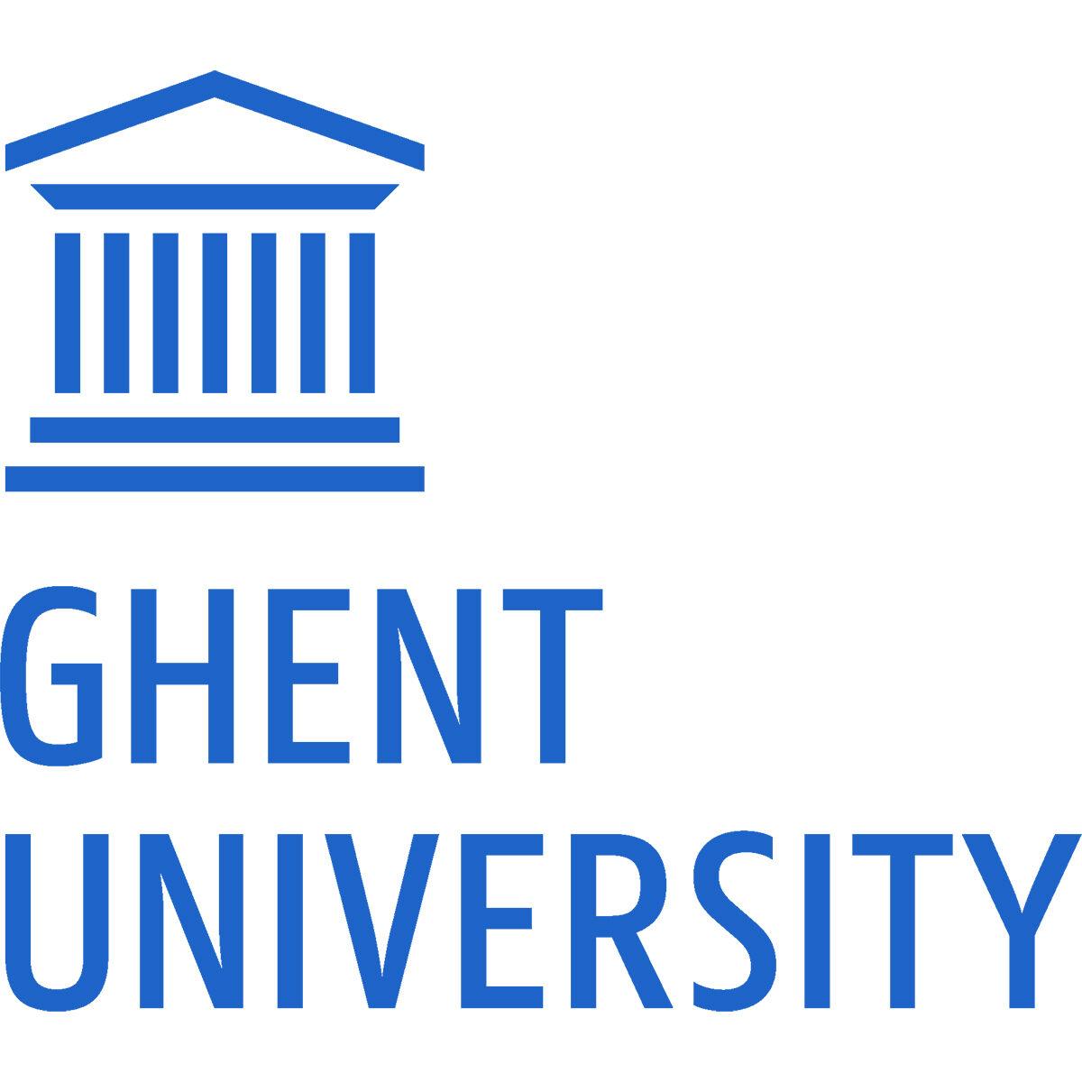 Ghent University logo.