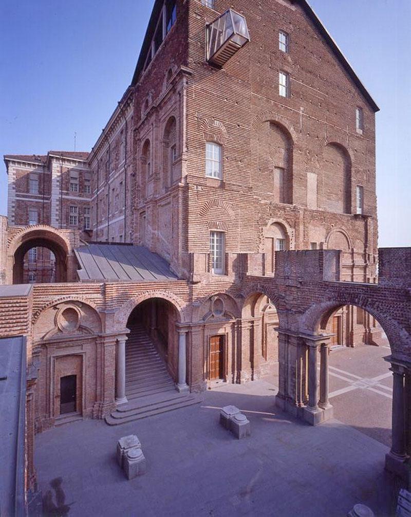 Τhe Castello di Rivoli Museo d'Arte Contemporanea in Turin.