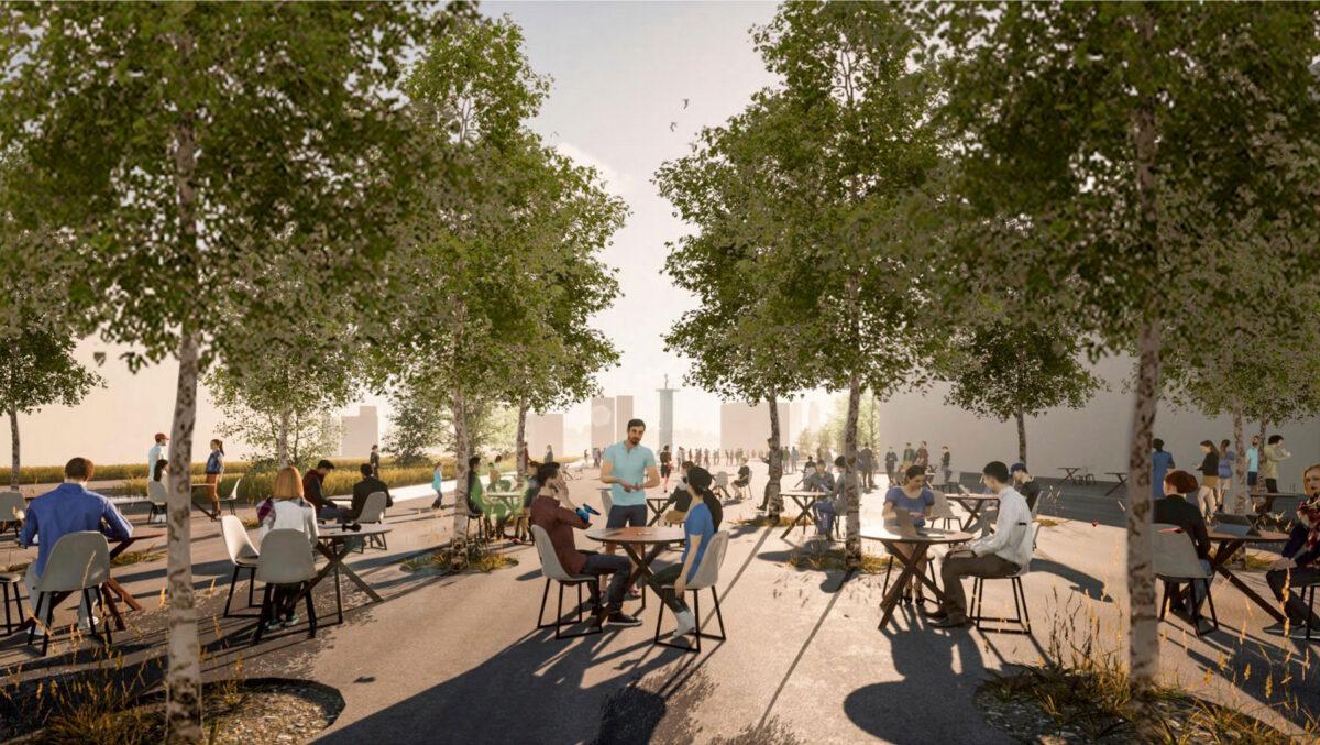 Recreation space at Hellinikon (photo: MOCAS)
