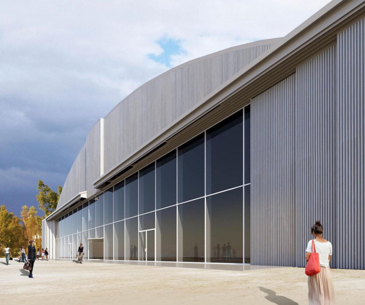 Hangar C at Hellinikon (photo: MOCAS).