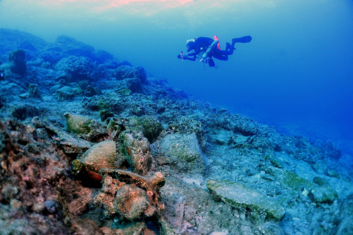 2020 Kasos Underwater Archaeological Research (photo: MOCAS)