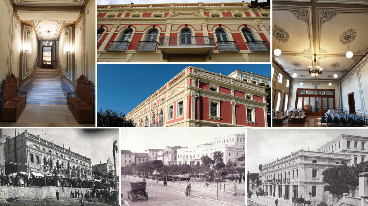 Kavala: the emblematic building of the Grand Club opens once again