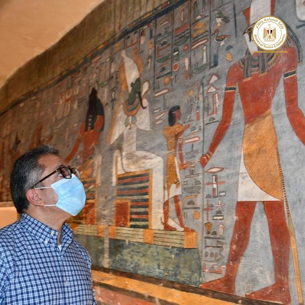 Τomb of Pharaoh Ramesses I has been reopened