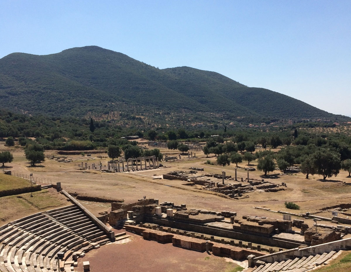 The archaeological site of ancient Messene. (Photo credit: Ministry of Culture and Sports)