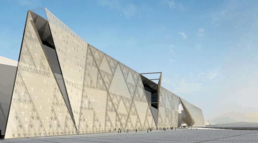 The Grand Egyptian Museum (photo: AMNA)