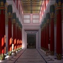How did Amenhotep III's Malqata Palace look like?