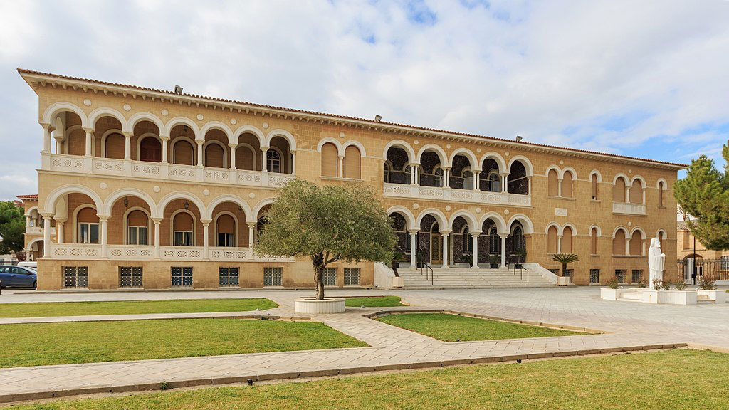 The Archbishop's Palace in Nicosia. Photo: A. Savin (Wikimedia Commons, WikiPhotoSpace).