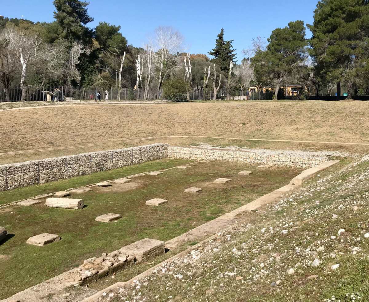 Restoration of the Gymnasium of Ancient Olympia